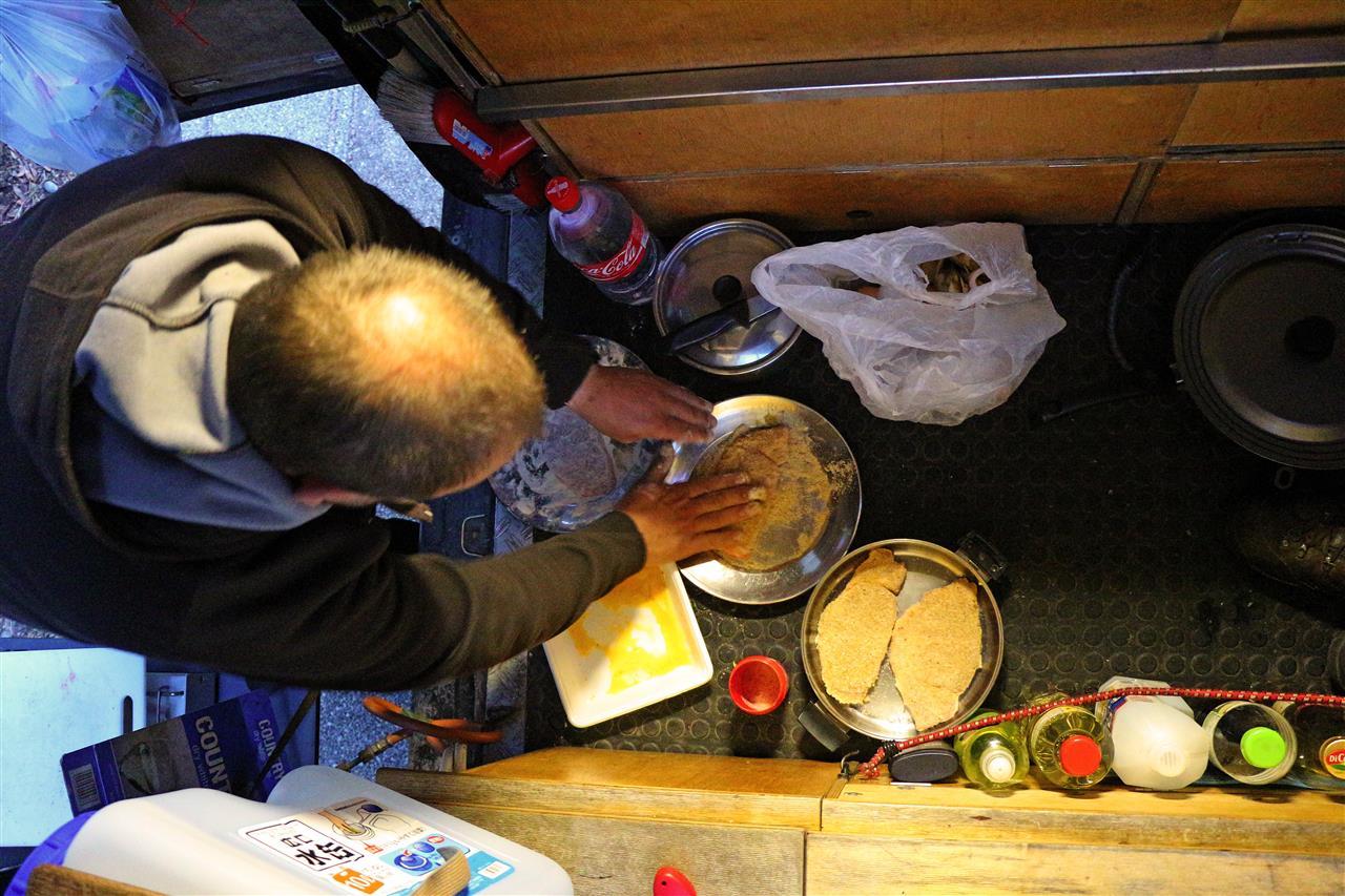 Schnitzel süss-sauer (Japan)
