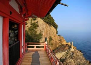 Schrein mit Aussicht (Japan)