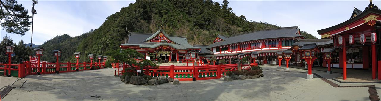 Taikodano-Inari Schrein in Tsuwano (Japan)