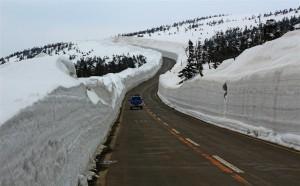 viel, sehr viel Schnee (Japan)