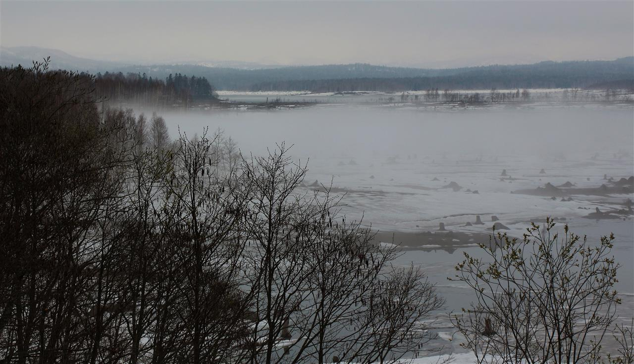 zugefrorener See (Japan)