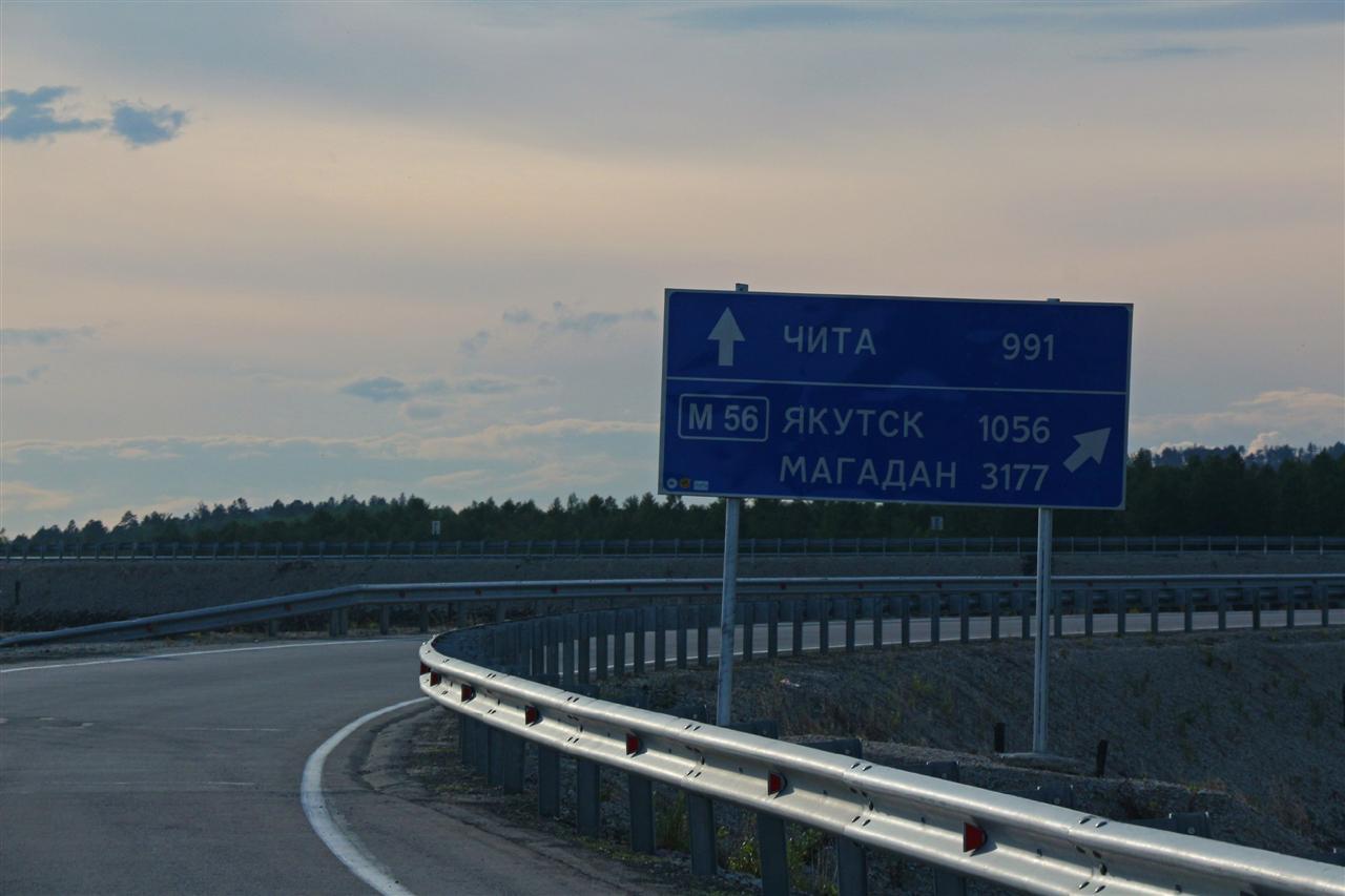 3177km nach Magadan (Russland)