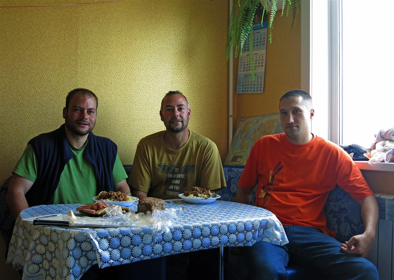 bei Alexej in Tynda (Russland)