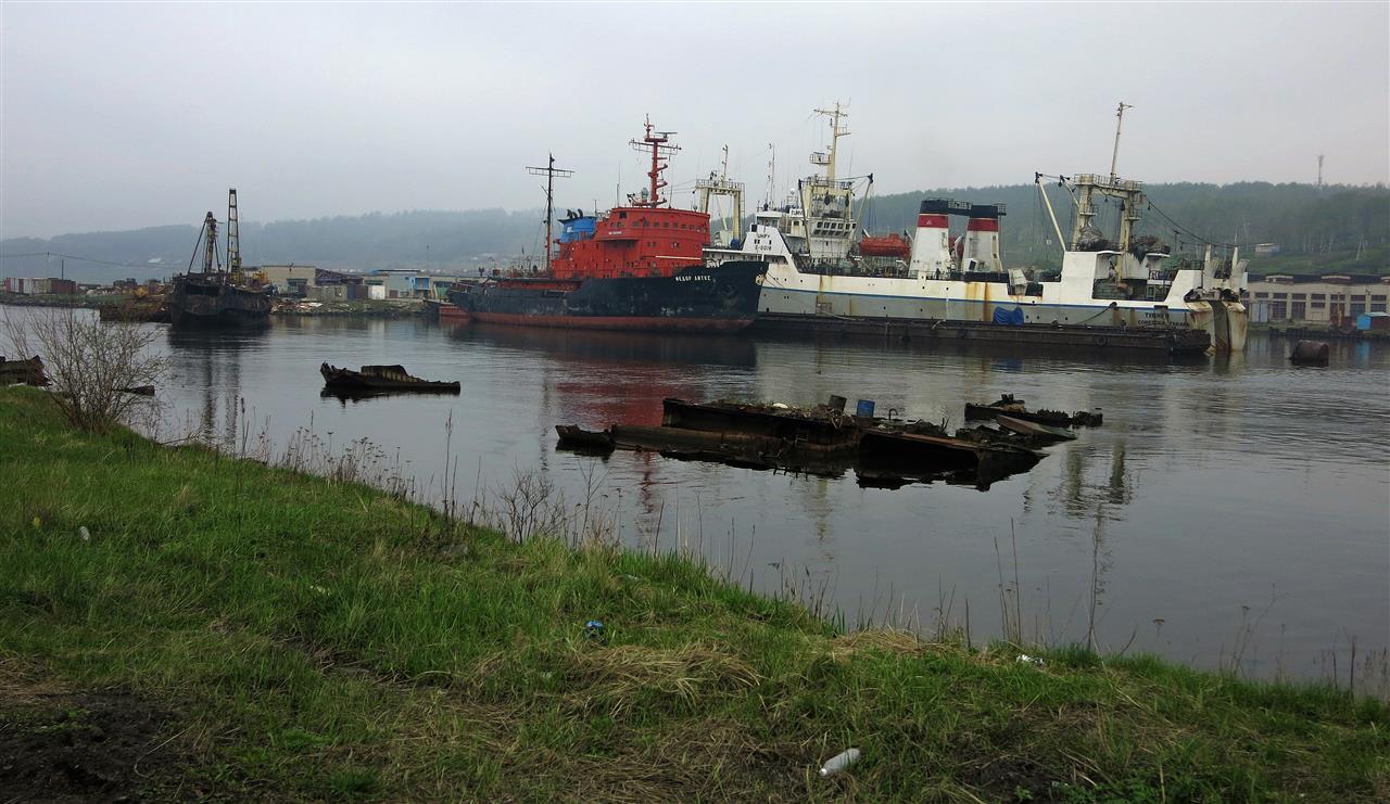 Hafen von Vanino (Russland)