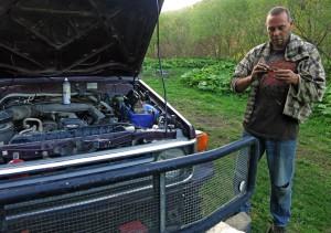 Motorlager tauschen (Russland)