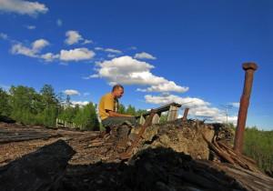 beim angeln (Russland)