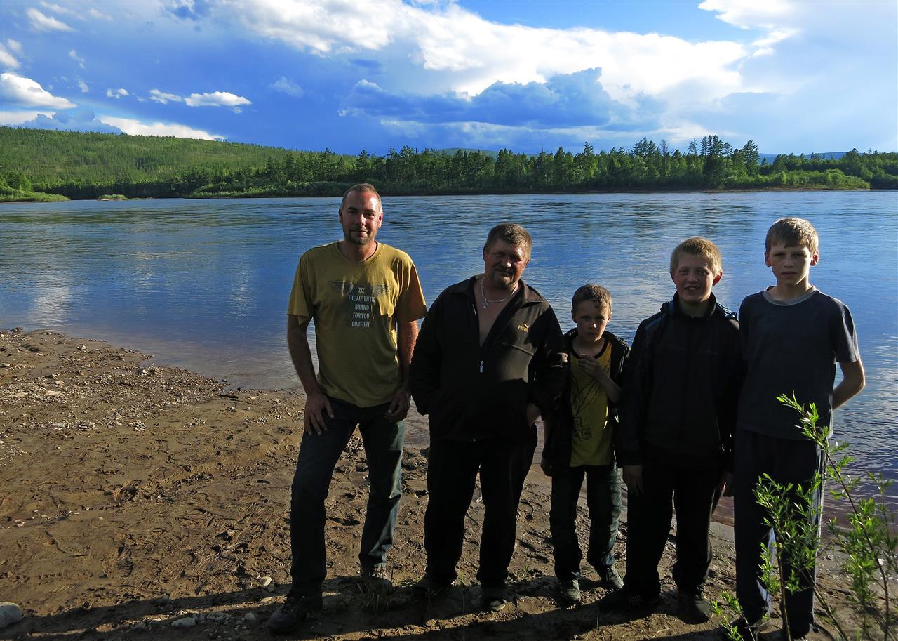 Nikolai und Kinder (Russland)