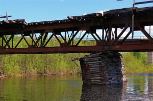 vertrauenserweckender Brückenpfeiler (Russland)