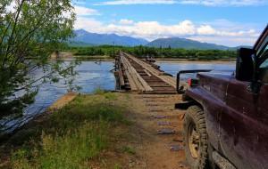 Vitim Brücke (Russland)