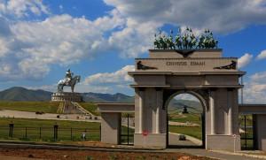 Chingis Khan Denkmal (Mongolei)
