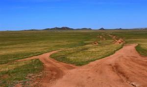 Keine Strassen (Mongolei)