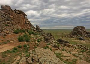 Berglandschaft (Mongolei)