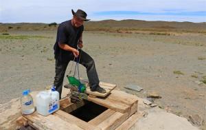 Brunnen in der Gobi (Mongolei)
