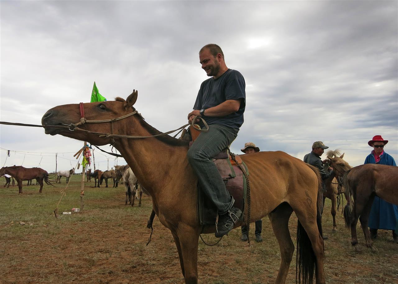 mongolischer Reiter (Mongolei)