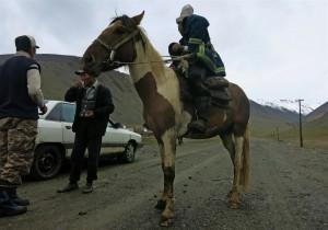 hinter dem Suck Pass (Kirgistan)