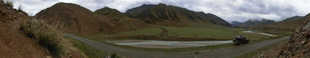 in Kirgistans Bergen (Kirgistan)