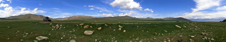 querfeldein fahren (Mongolei)