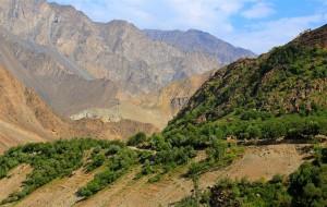Berglandschaft in Tadschikistan (Tadschikistan)