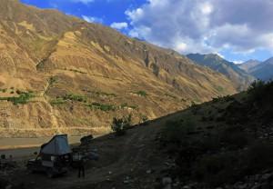 Camping im Panj Tal (Tadschikistan)