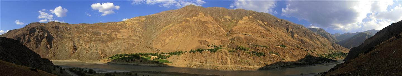 Dorf in Afghanistan (Tadschikistan)
