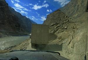 enge Strassen in Tadschikistan (Tadschikistan)