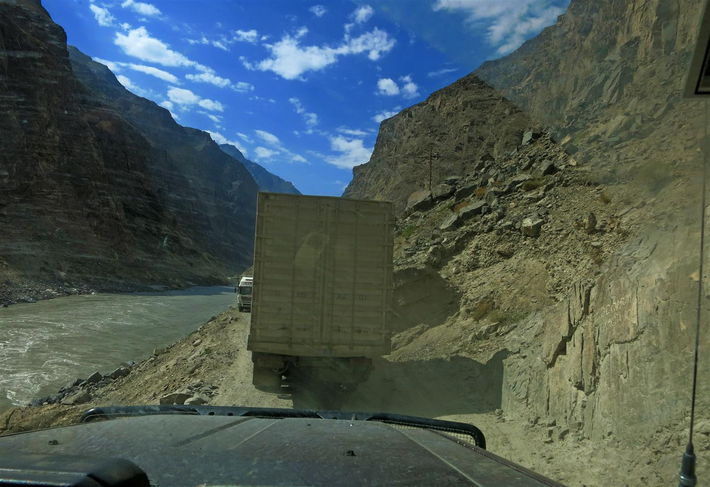 enge Strassen in Tadschikistan