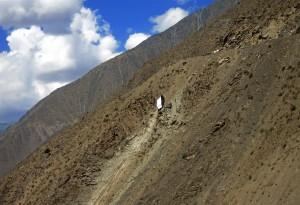LKW Wrack (Tadschikistan)