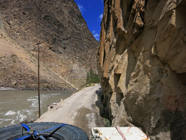 schluchtig (Tadschikistan)