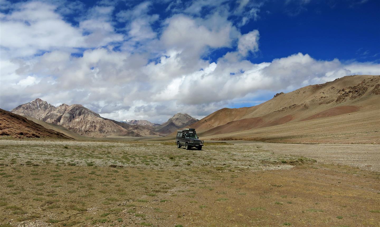 unterwegs im Pamirgebirge (Tadschikistan)