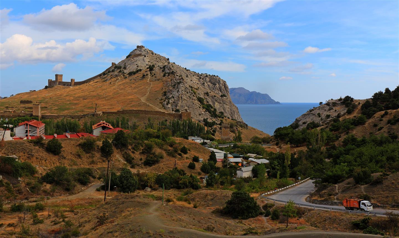 Festung Sudak auf der Krim (Ukraine)