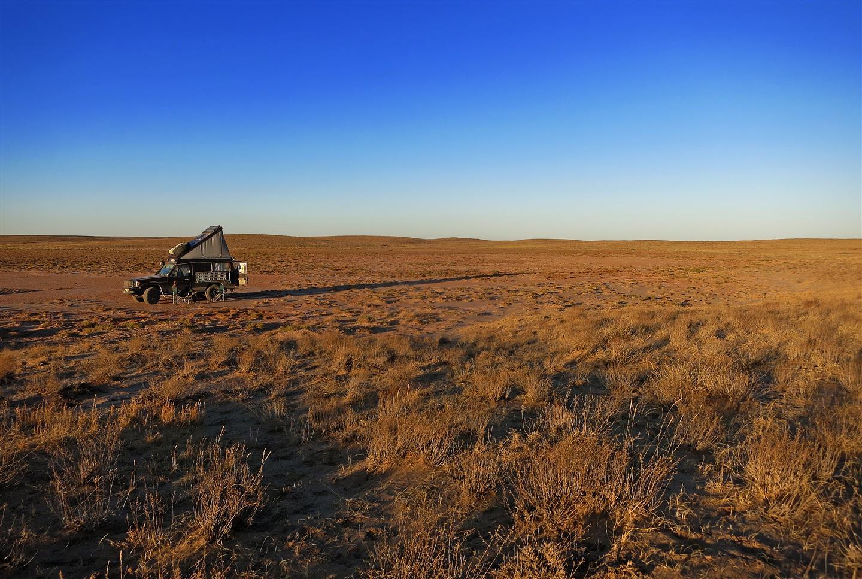 kasachische Steppe (Kasachstan)