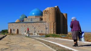 Mausoleum in Turkestan (Kasachstan)