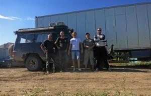 Unsere Freunde in Astrakhan (Russland)