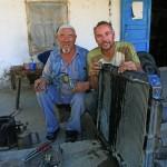 Kühlerrepartur-in-Kirgistan